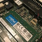 Intel nuc motherboard with SSD and RAM