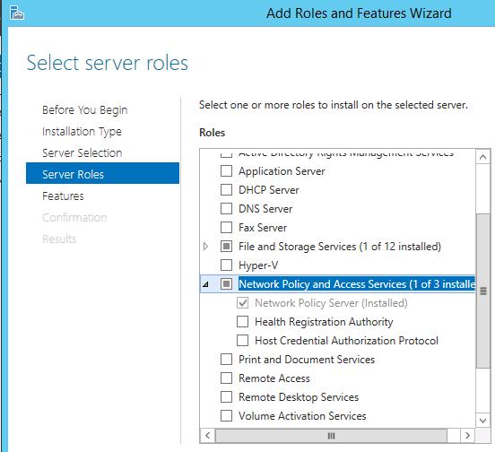 Configure Unifi WPA Enterprise with Radius on Windows Server NPS